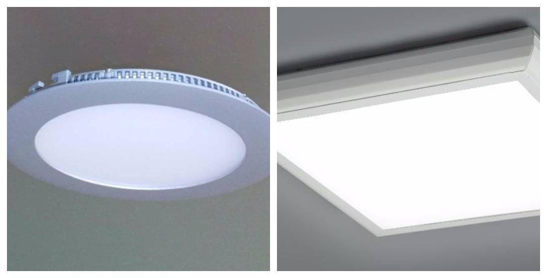 Светодиоидные потолочные светильники