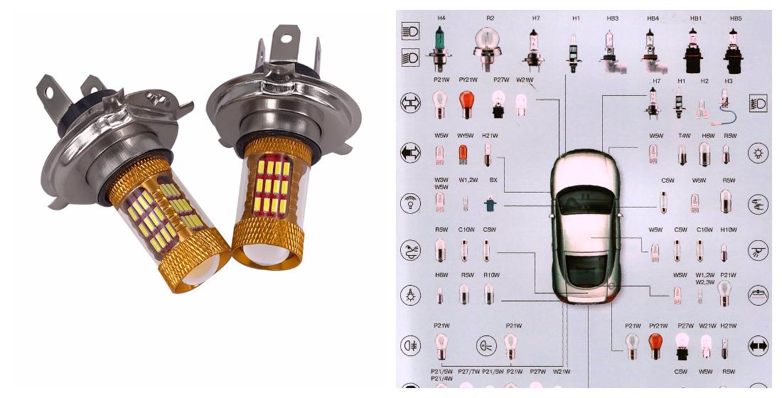 Выбор светодиоидных ламп