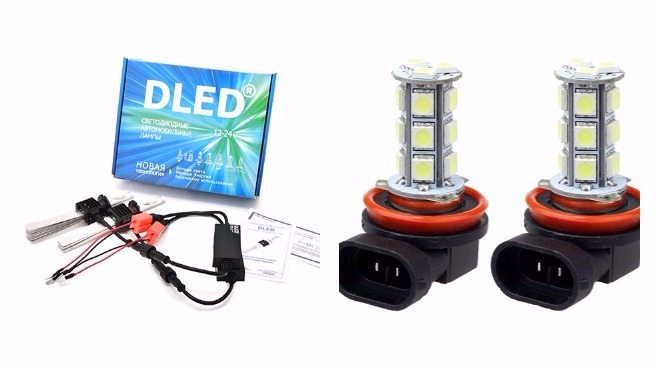 Тюнинг светодиодных ламп для автомобиля