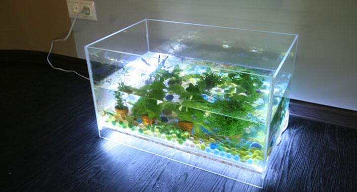Освещение аквариума - 3 метода расчета.